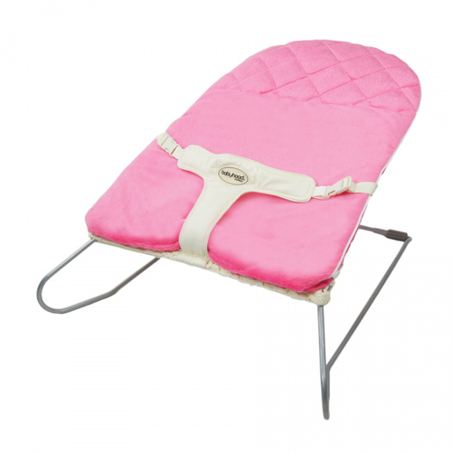 Bouncinette Padded Cover Deluxe - Hot Pink