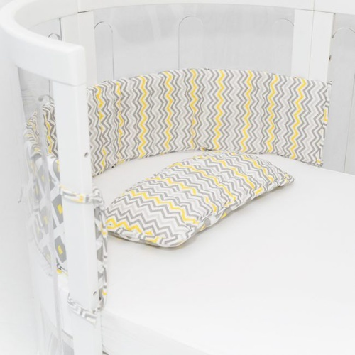 Pillow & Bumper Set - Lemon Twist