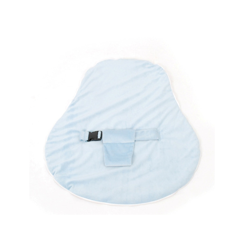 Newborn Collection Accessories - Velvet Cover With Harness Blue