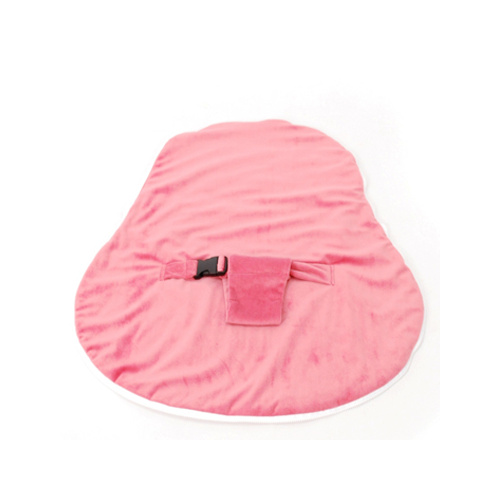 Newborn Collection Accessories - Velvet Cover With Harness Pink