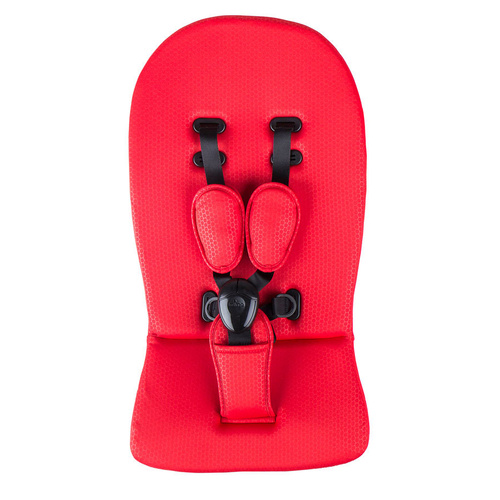 Mima -  Starter Pack Ruby Red - Apron Flap; Seatpad; Harness; Shoulder Pads & Mattress