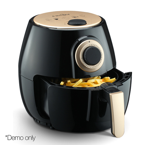 5 Star Chef 4L Oil Free Air Fryer - Black