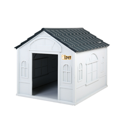 iPet Pet Dog Kennel Plastic Puppy House XXL