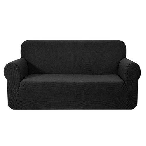 Artiss High Stretch Sofa Cover Couch Protector Slipcovers 3 Seater Black