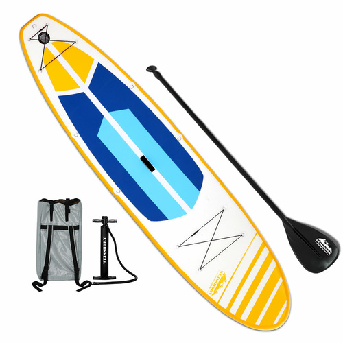 Weisshorn 11FT Stand Up Paddle Board Inflatable SUP Surfborads 10CM Thick