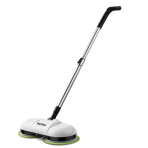 Cop Rose Electric Spin Mop Wireless Floor Cleaner Sweeper Washer Polisher Clean