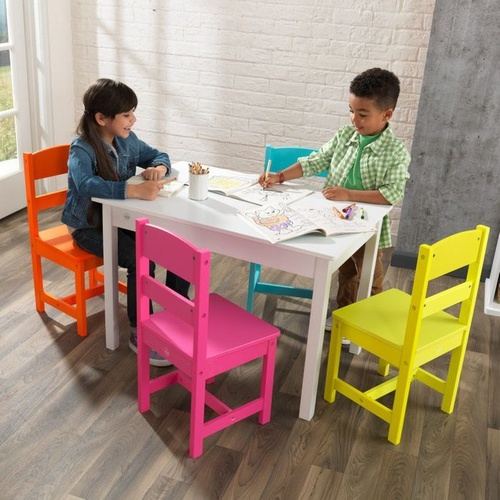 Kidkraft Highlighter Table & 4 Chairs