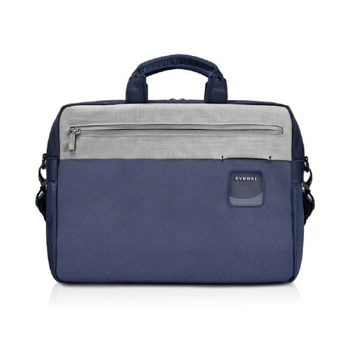 "Everki ContemPRO Commuter Laptop Bag Navy Briefcase, up to 15.6"" with Dedicated Tablet/iPad/Pro/Kindle compartment up to 13"""