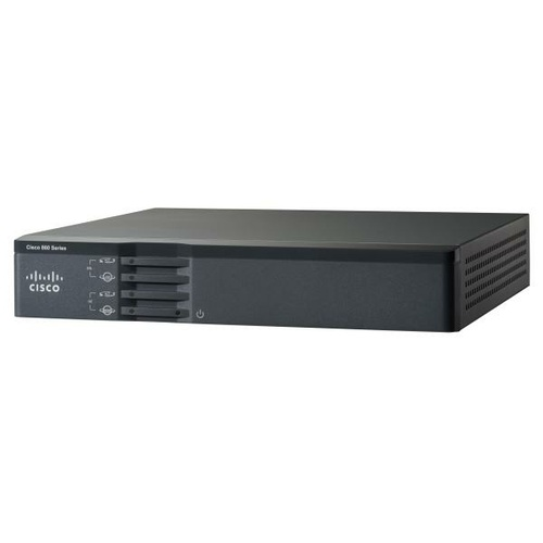 Cisco 867VAE Integrated Services Router with ADSL2+ over basic telephone service