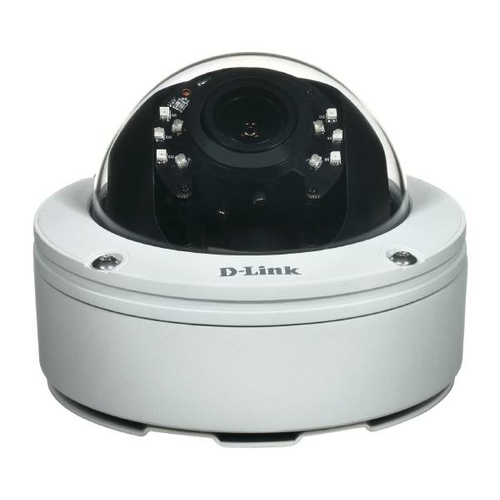 D-LINK DCS-6517 5 Megapixel Varifocal Outdoor Dome Network Camera