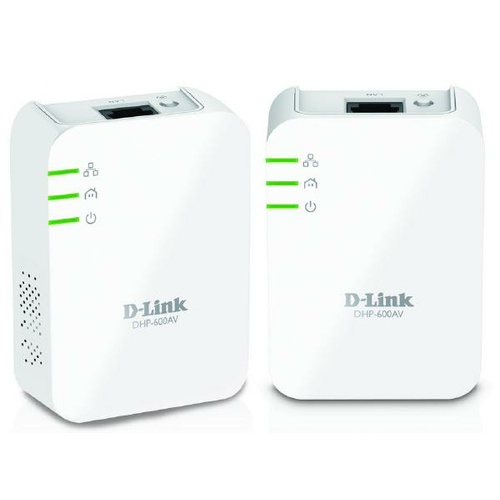 D-LINK DHP-601AV PowerLine AV2 1000 Gigabit Adapter