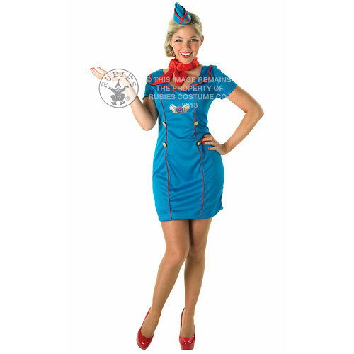 Air Hostess Costume - Size S